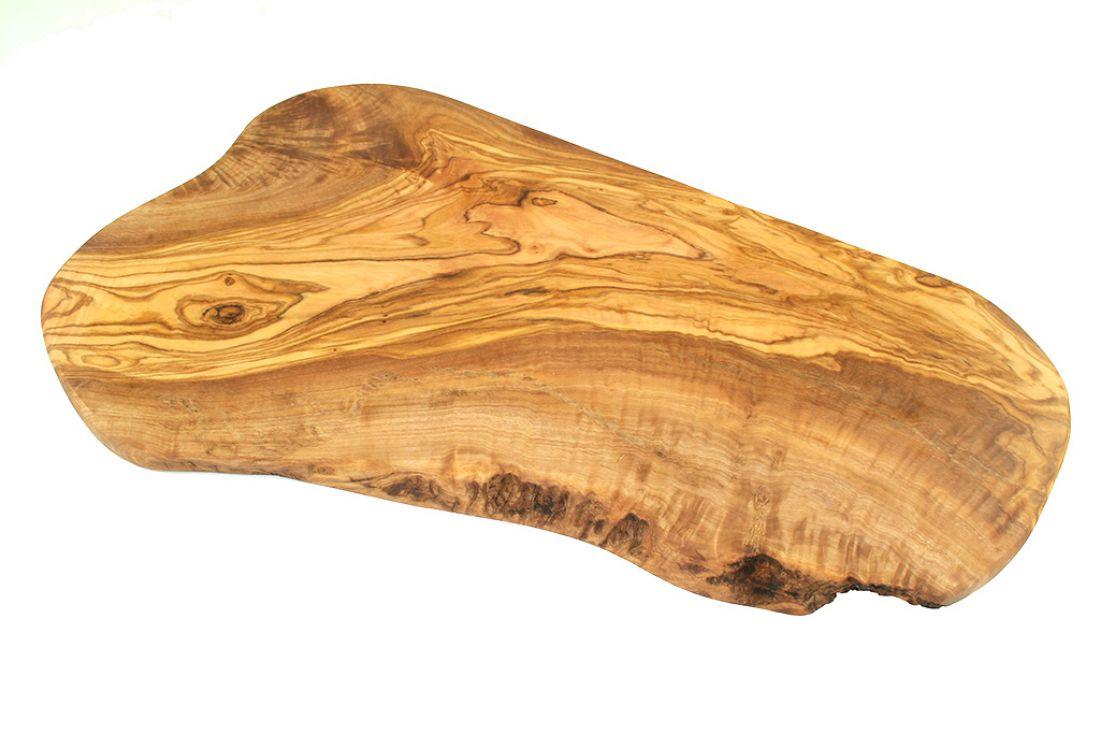 Olive wood natural cut cutting board approx cm